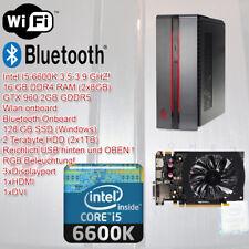 HP OMEN Gaming,i5 6600K 3,9GHz,16GB DDR4 RAM,GTX 960 2GB GDDR5,128GB SSD,2TB HDD
