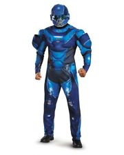 Adult's Mens Halo Guardians Nightfall Blue Spartan IV Armor Costume