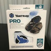 Yaktrax Pro Winter Traction Over Shoe Slip On, Size Small, New Free Shipping