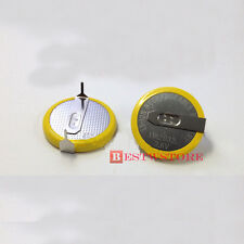 New LIR2032 LIR 2032 Li-ion 3.6V Rechargeable Battery Button/Coin With 2 Tabs