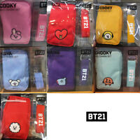 BTS BT21 Official Authentic Goods Bag Charm Set by LINE FRIENDS + Track Number