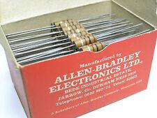 100Ω -1W Allen Bradley MORGANITE UK Carbon Composition Resistors  x 500 PIECES