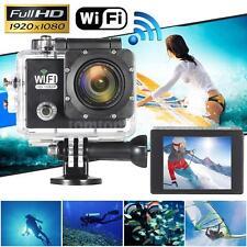 WiFi FULL HD 1080P 12MP Waterproof Sport DV Video Action Camera Helmet Camcorder