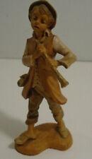 "Vintage Fontanini Depose 4"" Daniel Boy With Flute Figurine #143"