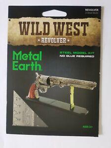 Metal Earth Wild West Revolver model kit