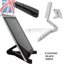 Blanco 4 Portátil Pliegue-Up Soporte Cuna Soporte Para iPad Tabletas Kindle lectores electrónicos