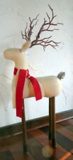 Stylized Raindeer Standing Figure New Hand Made 30 inches Tall $55 Ships Free!