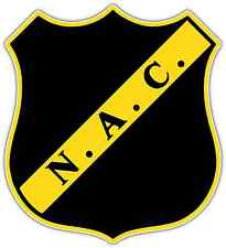 "Nac Breda Fc Netherlands Football Soccer Car Bumper Sticker Decal 4""X5"""