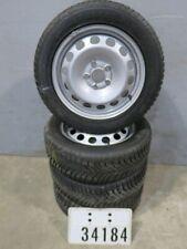 4 VW Caddy 2K Winterräder 205/55 R16 94H M+S Stahlfelgen mit Winterreifen #34184