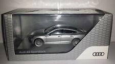 Spark 1:43 Audi A5 Sportback 2017 zilver nieuw in Audi dealer display doosje