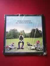 George Harrison MEGA RARE All Things Must Pass OOP 2001 UNPLAYED vinyl + Booklet