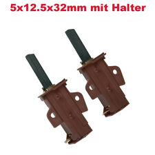 2x Spazzole Carbone Carbone Motore 4,8amp lavatrice come CANDY HOOVER 49028931