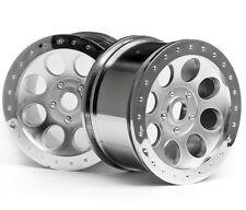 HPI Racing 3188 MAG-8 Wheel Matte Chrome 83x56mm (2) Savage Octane / X4.6 / XL