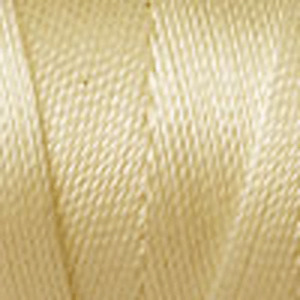 New  Beading Cord - C-lon Fine Tex 135: Cream - Large Spool