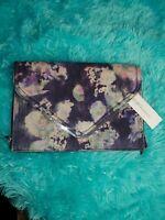 BCBGeneration  Purse Clutch  Large Envelope Foldover Multicolor