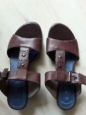Damenschuhe Schuhe 37 Sandalen Pumps wie neu Marco Tozzi braun