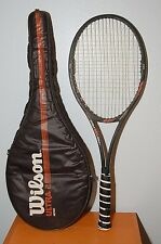 RARE! Wilson Ultra 2 MidSize PWS Tennis Racket St.Vincent AYQ Grip 4 1/2 w/ Case