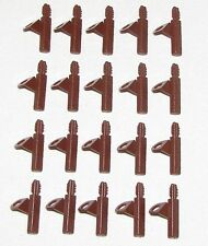 LEGO LOT OF 20 NEW REDDISH BROWN QUIVERS ARROWS BOW PACKS PIECES