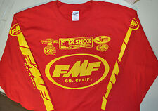 FMF Jersey Vintage Motocross - AHRMA Old School X-LARGE RED