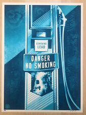 SHEPARD FAIREY   OBEY GIANT   DANGER NO SMOKING    ED OF 450 SIGNED & NUMBERED