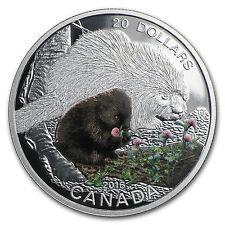 2015 Canada 1 oz Silver $20 Baby Animals (Porcupine) - SKU #94201