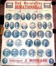 1920 Advertising Poster - Quack French Doctor Hair Restoration B