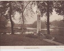 1926  --  LE MONUMENT AUX MORTS D UZA   3B944