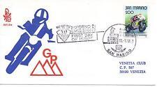 San Marino 1981 FDC Venetia Club Gran Premio Motociclistico