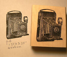 P18 Kodak Camera-Vintage-WM rubber stamp 2.5x2""