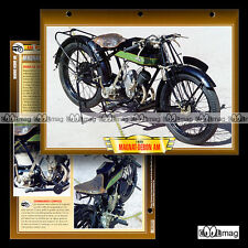 #105.03 Fiche Moto MAGNAT-DEBON 250 MODEL AM 1925-1931 Classic Motorcycle Card