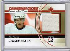 RON FRANCIS 10/11 ITG Canada vs the World Canadian Cloth Jersey #CCM-20 Team