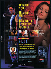 ALMOST BLUE__Original 1993 Trade Print AD movie promo__MICHAEL MADSEN__jazz__sax