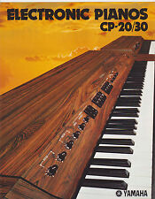VINTAGE MUSICAL INSTRUMENT CATALOG #10445 1970s YAMAHA ELECTRIC PIANO CP20/CP30