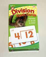 Apple Seed Division Flash Card Set