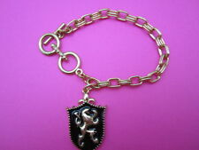 Lion Shield Toggle Bracelet