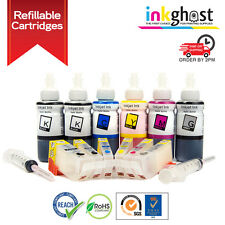 REFILLABLE INK CARTRIDGES for CANON CLI-526 PGI-525 MG6150 MG6250 MG8150 MG8250