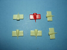 6  AILERONS  MID  WINGS   1/18   VROOM  F1  ACCESSORIES   MATTEL  MINICHAMPS