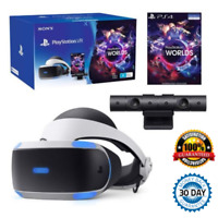 Sony PlayStation VR with Camera and VR Worlds Game (V2) PS4 Bundle