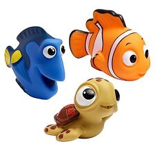 Finding Nemo Bath Toy Squirt Disney Baby Dory Turtle Kids Water Play Toddler New
