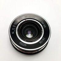 Industar-69 28 mm f / 2.8 lens M39 for Leica screw-mount (LSM) USSR Soviet
