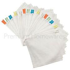 30 X Ikea KRAMA Blanco 100% Algodón Paños/Franelas Para Bebés Y Niños
