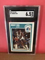 1989-90 Fleer Basketball Robert Reid #17 SGC 6.5 NM Graded Card Hornets