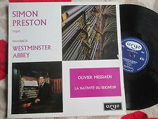 Simon Preston, Olivier Messiaen  La Nativité Du Seigneur Argo RG447 Vinyl Album