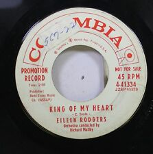 50'S & 60'S Promo 45 Eileen Rodgers - King Of My Heart / I Never Know When To Sa