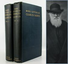 1903*MORE LETTERS*CHARLES DARWIN*1st EDITION*HITHERTO UNPUBLISHED CORRESPONDENCE