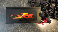 KINGWIN LZ-1000 1000W 80+ Bronze LED Modular ATX Power Supply Lazer Lightening