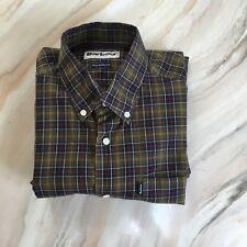 Mens Barbour Long Sleeve Shirt Size Medium EXCELLENT CONDITION