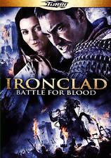 IRONCLAD: BATTLE FOR BLOOD - TOM AUSTEN   MICHELLE FAIRLEY 2014 MEDIEVAL  DVD