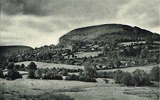 Cwmyoy Village Above The Honddu Vintage 1946 Print Picture WBC#16