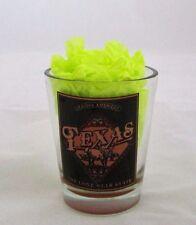 Genuine American TEXAS The Lone Star State Muddy bottom Shot glass 1.5 oz